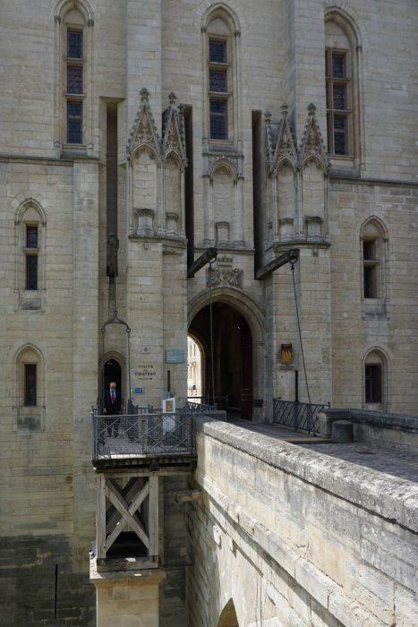 Венсенский замок. Проход в Деревенскую башню