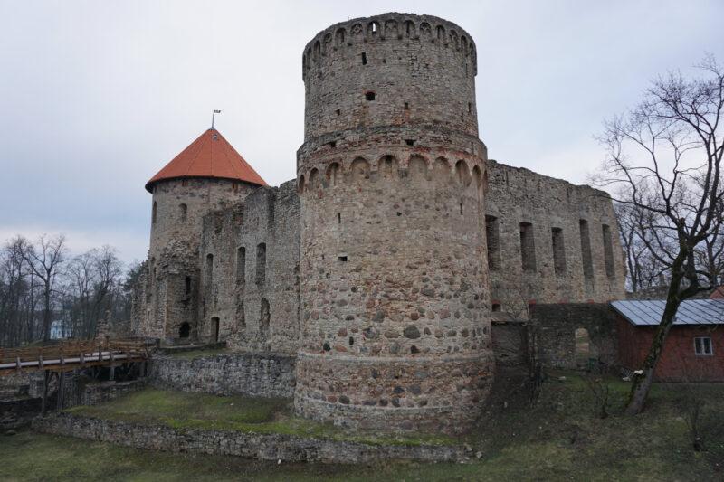 Цесис. Южная башня