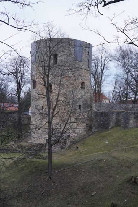 Цесис. Северная башня