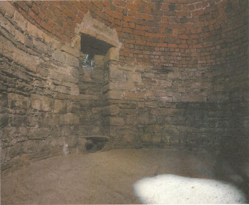 Цесис. Темница в подвале северной башни