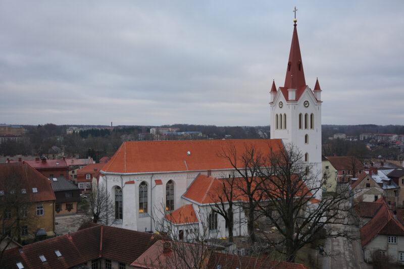 Цесис. Церковь Святого Иоанна.