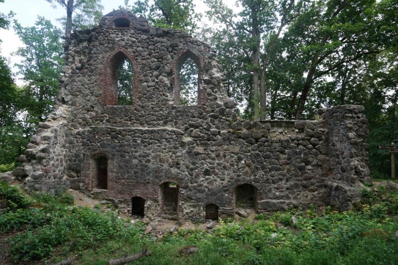 Кримулда. Руины главного здания