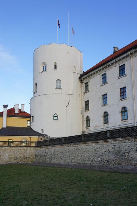 Рижский замок. Башня Святого Духа