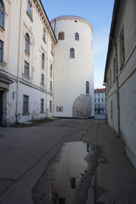Рижский замок. Свинцовая башня с западной стороны