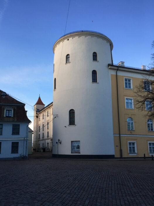 Рижский замок. Свинцовая башня с юго-восточной стороны