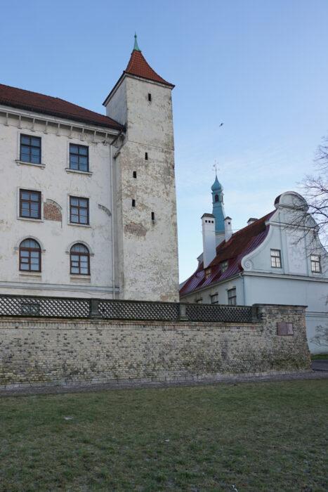 Рижский замок. Южная прямоугольная башня