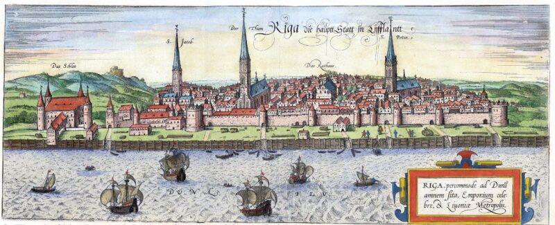 Панорама Свободного города Риги (1581 г., картина)