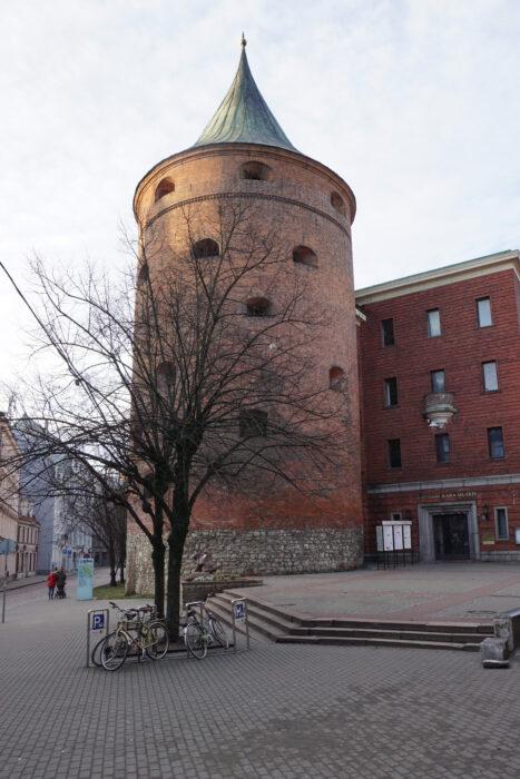 Рига. Пороховая башня
