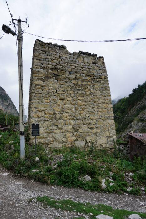 Северная Осетия. Дзивгис. Башня Гутновых