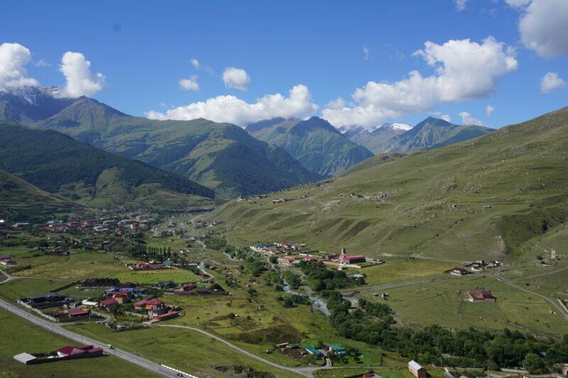 Северная Осетия. Фиагдонская котловина