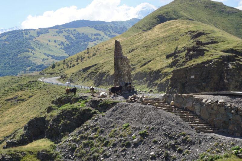 Северная Осетия. Уалласых. Верхняя башня