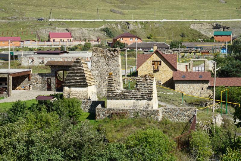 Северная Осетия. Даллагкау. Башня Мулуховых