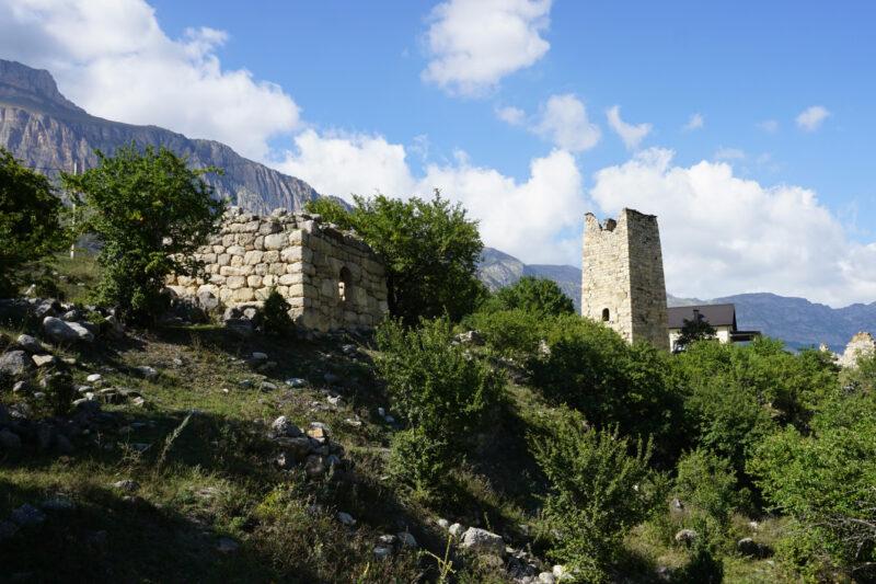 Северная Осетия. Даллагкау. Башни Бритаевых