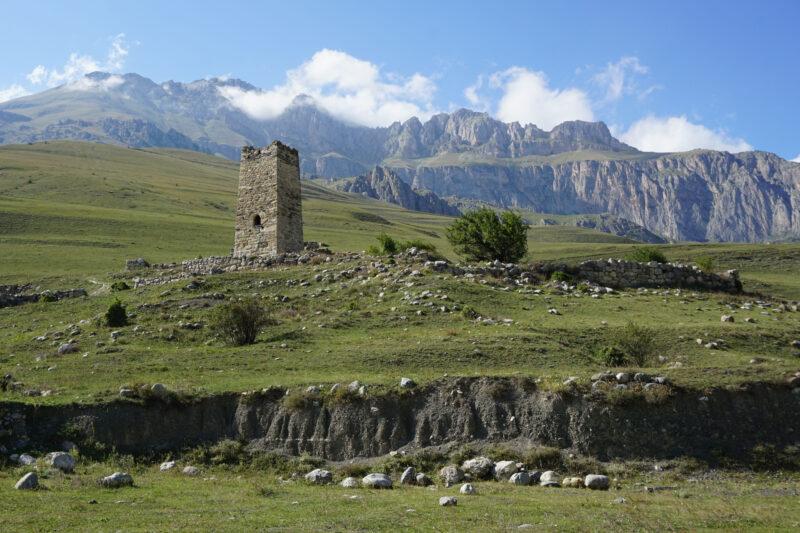 Северная Осетия. Даллагкау. Башня Цаликовых