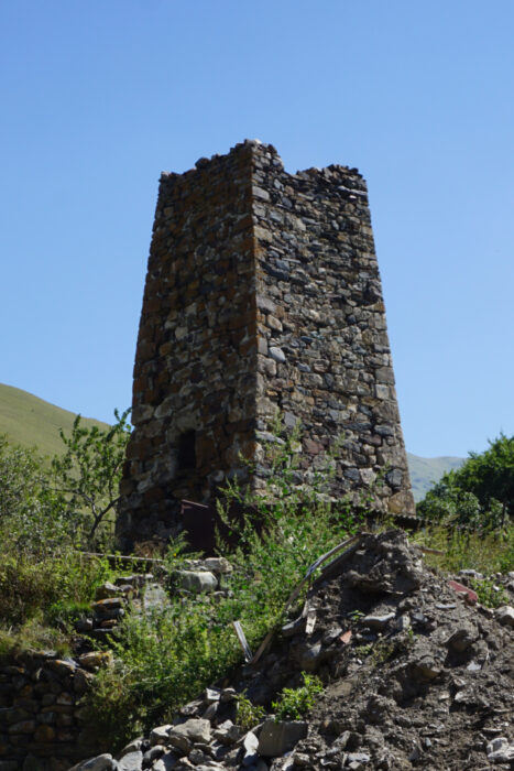 Северная Осетия. Лац. Башня Тебиевых