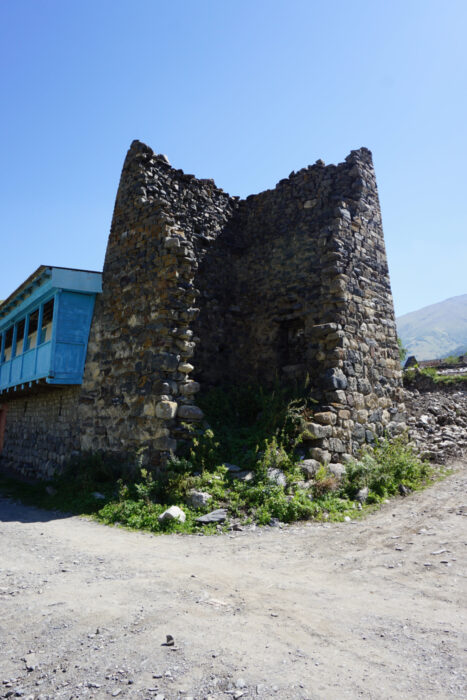 Северная Осетия. Лац. Башня Хадиковых
