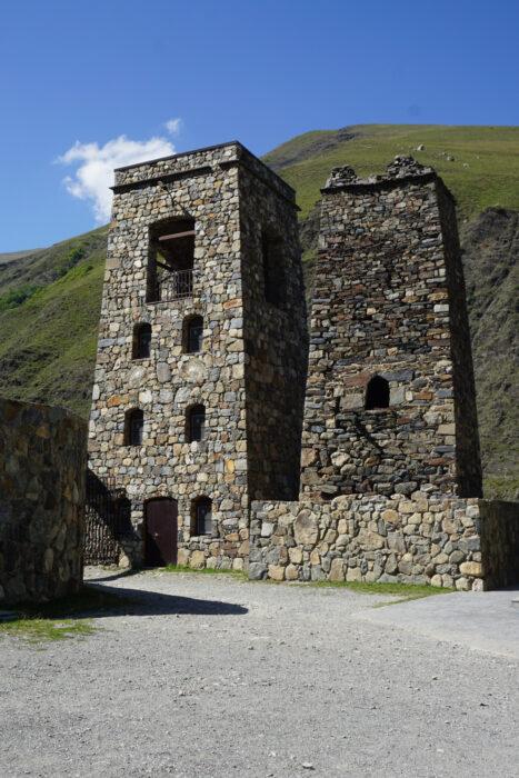 Северная Осетия. Хидикус. Башни Гусовых