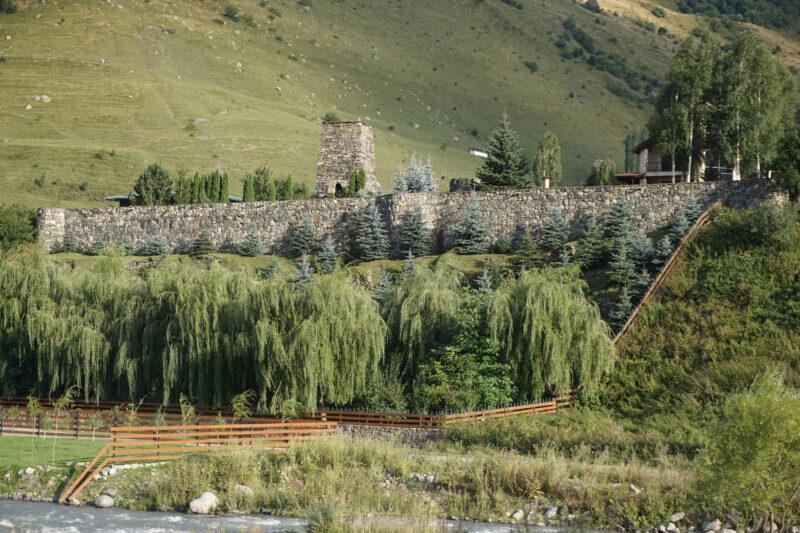Северная Осетия. Хидикус. Башня в восточной части селения