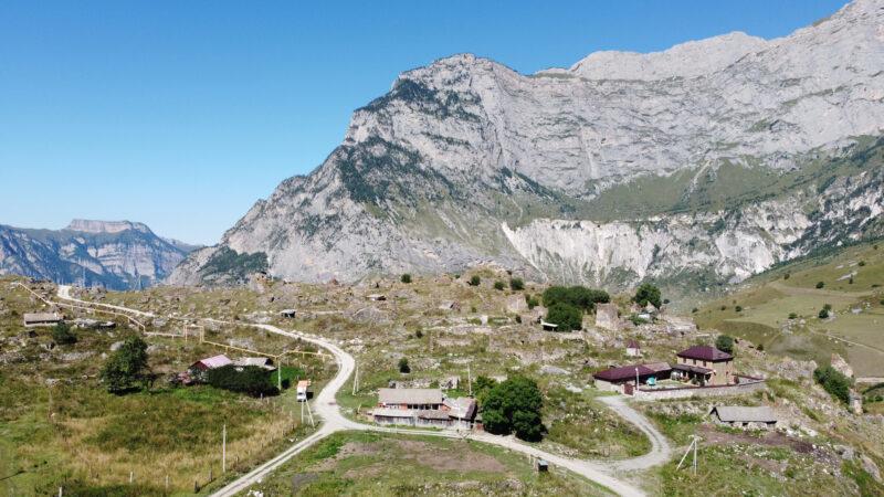 Северная Осетия. Урсдонское ущелье, селение Дагом